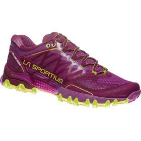 La Sportiva Bushido Running Shoes Women Plum/Apple Green